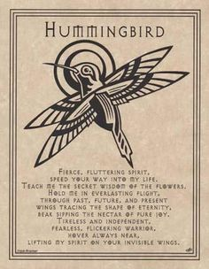 HUMMINGBIRD-Parchment-Page-for-Book-of-Shadows-pagan-wicca-witch