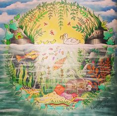Inspirational Coloring Pages by Diana Moraes  #inspiração #coloringbooks #livrosdecolorir #jardimsecreto #secretgarden #florestaencantada #enchantedforest #reinoanimal #animalkingdom #adultcoloring #johannabasford #lostocean #oceanoperdido
