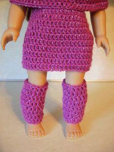 AG Crochet leg warmers pattern FREE