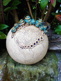 Ceramic Glaze Recipes, Clay Texture, Ceramics Ideas, Vase, Towers, Ceramic Pottery, Sculpting, Christmas Bulbs, Holiday Decor
