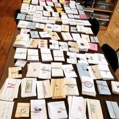 Organizing Flashcards | The Autism Helper