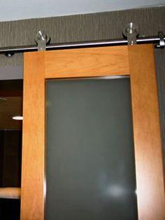 Modern Stainless Steel BARN DOOR HARDWARE for Wood Door