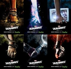 New Banner & Character Posters For Hulu's 'Marvel's Runaways' - Television - MarvelousNews.com