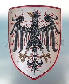 Coat of arms - black eagle