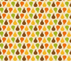 Peared up! fabric by latteonesugar on Spoonflower - custom fabric