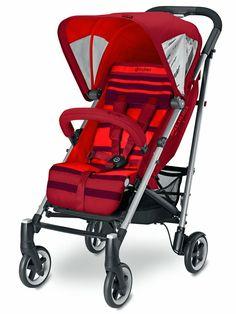 Poussette citadine 4 roues de la collection Callisto Mars Red de chez Cybex... #poussettecallistoblack #poussette4rouescybex #poussettecybex #cybex #callistomarsred #