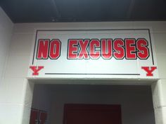 YSU football locker room.