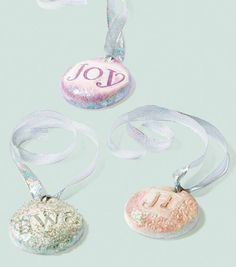 Clay Cookie OrnamentsClay Cookie Ornaments