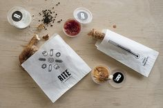 BITE by Eszter Laki, via Behance
