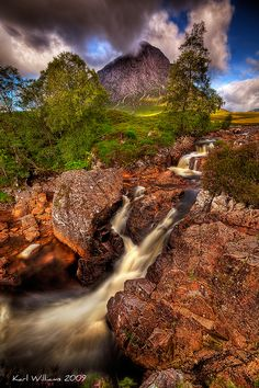 The Buachaille, Scotland, photo by Karl Williams.