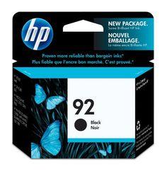 HP 92 Black Original Ink Cartridge (C9362WN) http://ift.tt/2lbUhdr