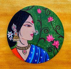 Pichwai Paintings, African Art Paintings, Madhubani Art, Madhubani Painting, Indian Folk Art, Indian Artist, Rajasthani Art, Mandala Art Lesson, Art Painting Gallery