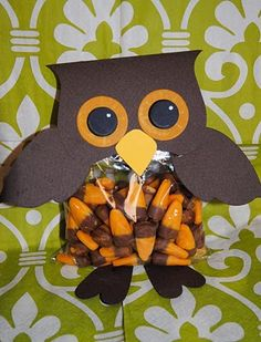 DIY Owl Party Favors-could be any combo of colors for baby showers or whatever!!