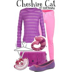 Cheshire Cat, created by lalakay on Polyvore