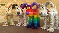 19.04.2013 - These giant Gromit statues are going to be dotted all around Bristol this summer.