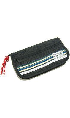 Rough Enough Color Rainbow Stripe Small Pouch Pencil Case Best Price