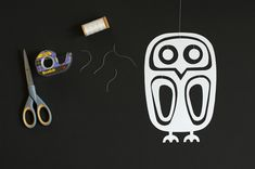 Made by Joel Paper Owl Mobile 5