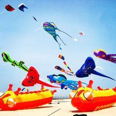Great Lakes Kite Festival - Grand Haven, Michigan