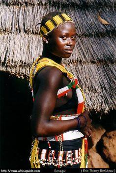 Africa | Bassari girl in Ethiolo.  Senegal | ©Eric Thierry Berluteau