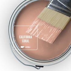 For a classic, cultivated look on your home's exterior walls, choose BEHR MARQUEE Flat Exterior paint. Featuring the most advanced dirt and fade technology available from BEHR that keeps your home looking Behr Paint Colors, Interior Paint Colors, Paint Colors For Home, House Colors, Coral Paint Colors, Natural Paint Colors, Trending Paint Colors, Paint Color Schemes, Pink Color