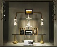 Designer Fotis Evans' conceptual store windows for Hermès, York Window Display Design, Store Window Displays, Retail Windows, Store Windows, Somerset, Hermes Window, Restaurants, Evans, Fashion Wallpaper