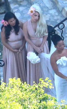 Is that Gaga we see? Check out the pop star's bridesmaid look and others in our Celebrity Bridesmaid gallery! | E! Online