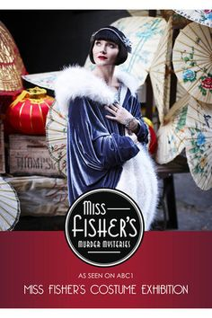 Miss Fisher's Costume Exhibition Catalogue ~ Miss Fisher's Murder Mysteries Exhibition