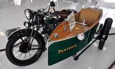 """1931 Phelon and Moore """"Panther"""" that Von Dutch restored, and Steve McQueen owned."""