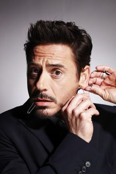Robert Downey Jr. (photo by Nigel Parry)