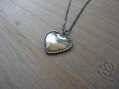 Pingente Coração Vintage
