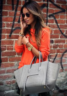 Casual, Bright Colour, Orange, Gold -Sincerely Jules
