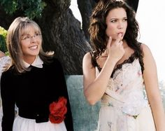 Still of Diane Keaton and Mandy Moore in Because I Said So, love the dress