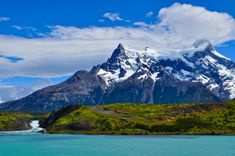 Cruise the deep waters of Patagonia from Santiago to Ushuaia. See the Andes, Glaciers & Torres del Paine, plus explore Santiago & Buenos Aires in style. Great Places, Places To See, Beautiful Places, Beautiful Scenery, Beautiful Landscapes, Ushuaia, Places Around The World, Around The Worlds, Lakes