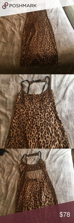 D&G vintage leopard dress Awesome and sexy vintage D&G leopard print dress, in excellent condition Dolce & Gabbana Dresses Midi