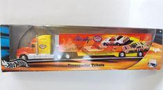 Hot Wheels Racing Darrell Waltrip Transporter Tribute 2001 Sealed Nascar 11 #HotWheels #Chevrolet