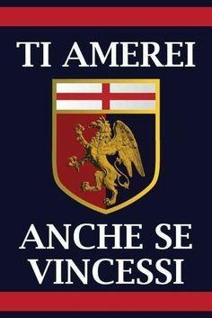 Genoa Football, Genoa Cfc, Forever, Club, African Art, Grande, Motivation, Red, Hs Sports