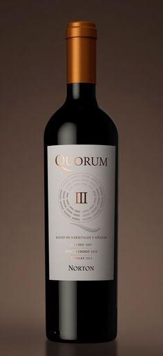 Quorum - Norton #vino #packaging #wine #naming