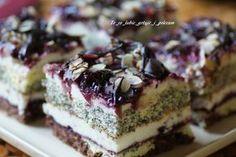 Popapraniec – To co lubie – gotuje i polecam Polish Desserts, Polish Recipes, Sweet Recipes, Cake Recipes, Dessert Recipes, Sweets Cake, Cupcake Cakes, Sandwich Cake, Eclairs