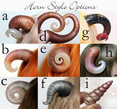 Custom Commissions Request : Horns von SparrowsShop auf Etsy