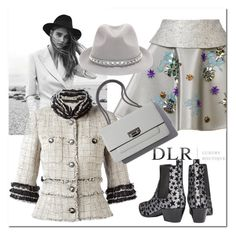 """""""DLR"""" by ilona-828 ❤ liked on Polyvore featuring Yves Saint Laurent, Delpozo, Chanel, Valentino, polyvoreeditorial, dlr and dlrboutique"""