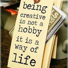 #creativity #hobbies #wordstoliveby #mjangel