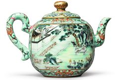 A Qianlong Teapot: The Scholar in the Forbidden City | Sotheby's