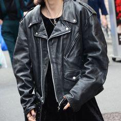 80's ショット ダブルライダース ビッグサイズ! 表記(46) | *tops | | LABORATORY/BERBERJIN R Riders Jacket, Motorcycle Jacket, Leather Fashion, Grunge, Street Wear, Wheels, Leather Jacket, Street Style, Rock