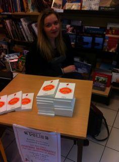 Dédicace à La Maison de la Presse de Carentan par Ève Cottin @Folio_livres
