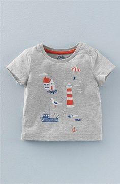 Mini Boden 'Seaside Adventures' Graphic T-Shirt (Baby Boys & Toddler Boys)