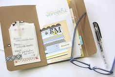 Date night journal to chronicle dates with your hubby throughout the year - fun!