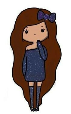 "Képtalálat a következőre: ""oblyvian girls"" Kawaii Girl Drawings, Hipster Drawings, Cute Cartoon Drawings, Cute Cartoon Characters, Cute Girl Drawing, Easy Drawings, Arte Do Kawaii, Kawaii Art, Oblyvian Girls"