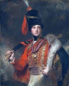 Thomas Lawrence 'Portrait of Lieutenant General the Hon. Sir Charles Stewart, K.B., in hussar uniform (1778-1854)' (1814)