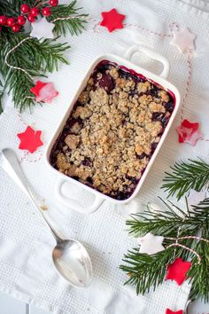 Weihnachts Crumble