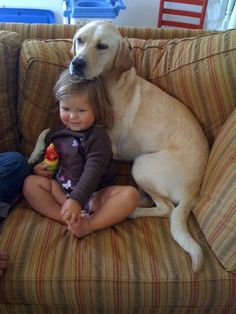 Why children need a pet...to have someone to watch their favorite cartoon with.